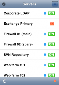 IPMI touch Screenshots @ IPMI touch – ipmitool for your iPhone
